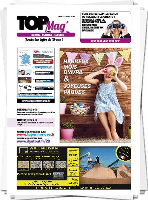 Magazine mensuel Top 28 Dreux